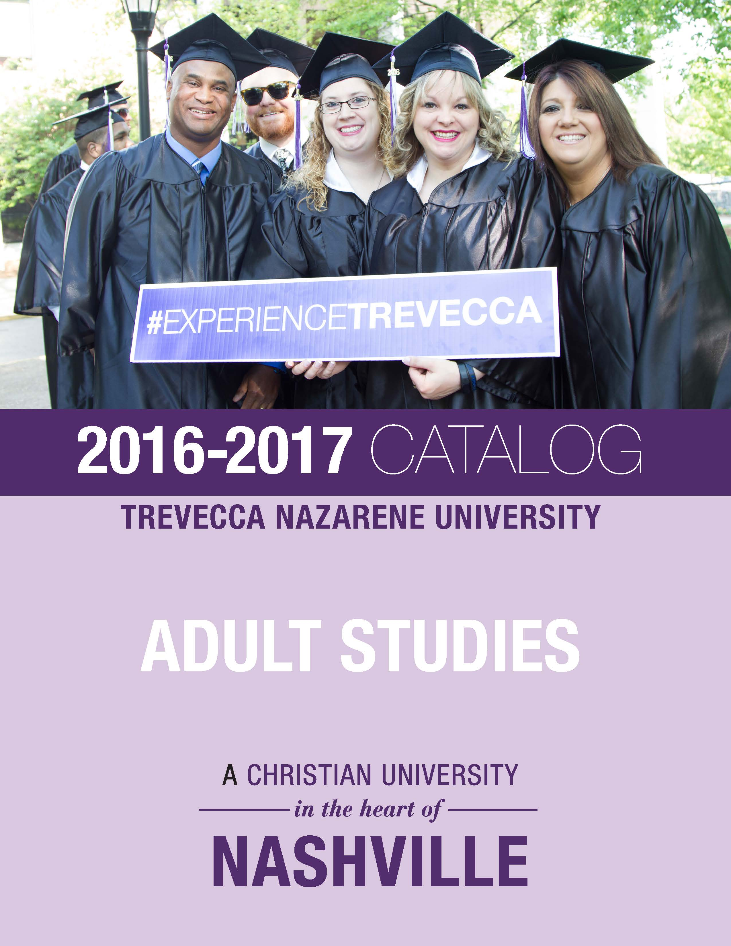 2016-17 Adult Studies Catalog Cover